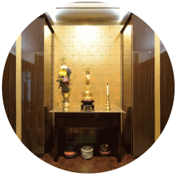 室内納骨・心泉御廟