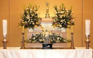 法句寺本堂使用_基本プラン祭壇