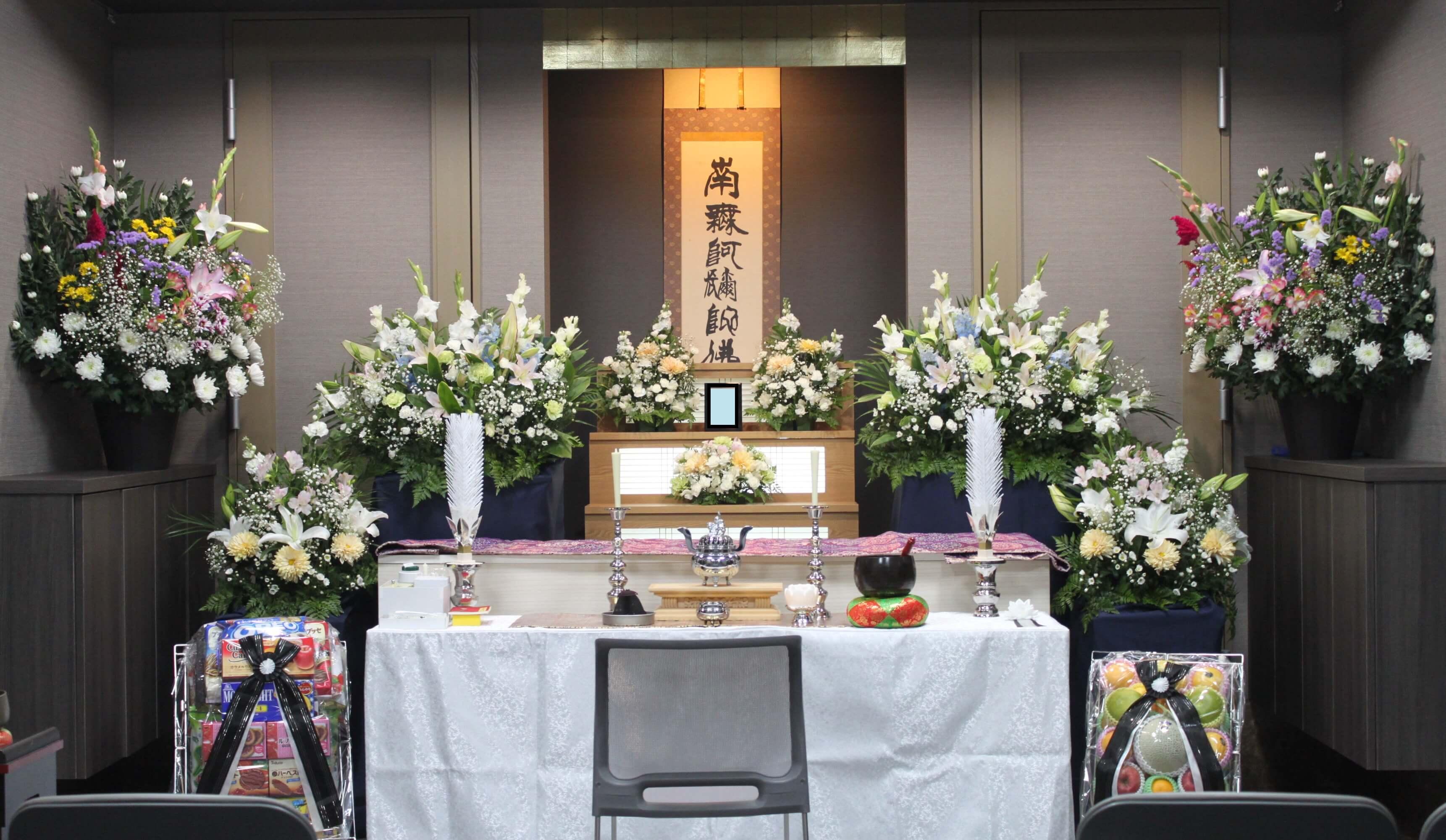 心泉の家族葬・事例