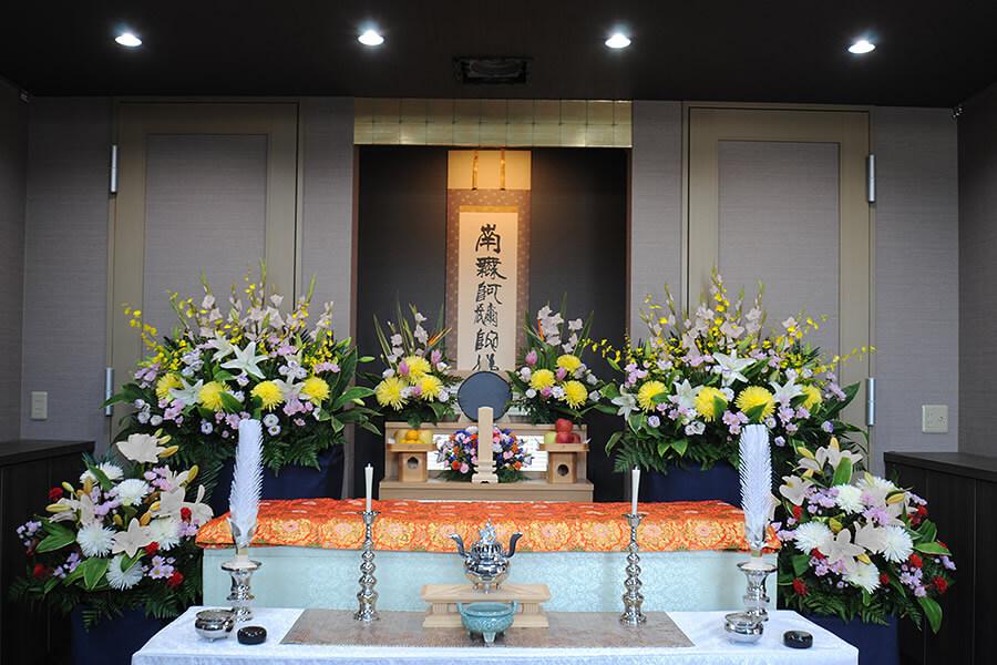 家族葬・花プランイメージ